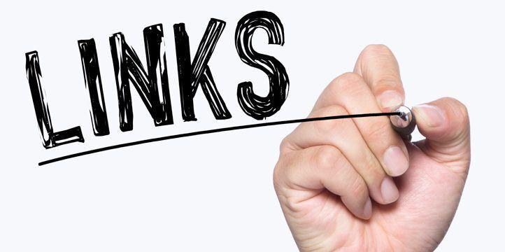 Links written by hand